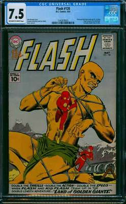 Flash # 120  Land of the Golden Giants !   CGC 7.5 scarce book !