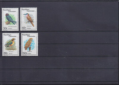 055129 Vögel Birds Gabonaise 752-55 ** MNH Year 1980