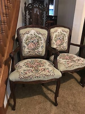 French Louis VI Style ACCENT CHAIR 1