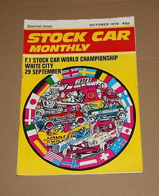 Stock Car Monthly October 1979 (White City World Final Special)