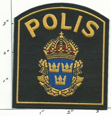 SWEDEN NATIONAL  POLICE   Patch
