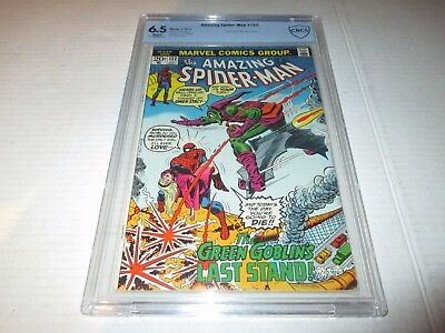 Amazing Spider-Man #122 Death Of The Green Goblin CBCS 6.5
