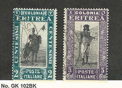 Eritrea (Italy), Postage Stamp, #119-120 Used, 1930