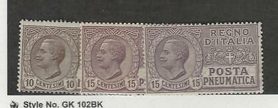 Italy, Postage Stamp, #D1, D2, D2a Mint LH, 1913-28