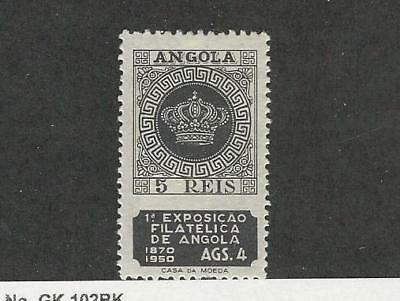 Angola, Postage Stamp, #330 Mint Hinged, 1950, Portugal Colony