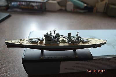 Rare Atlas Editions British Battleship - H M S Prince Of Wales  - Boxed