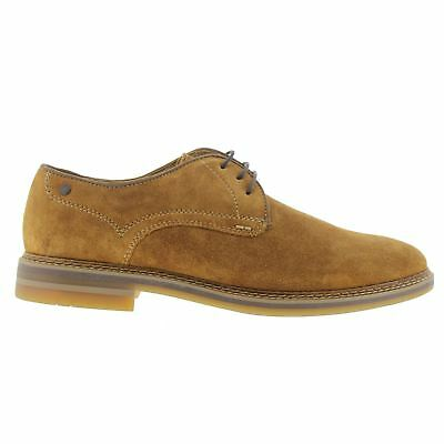 Base London Blake SCO01243 Tan Mens Casual Lace Up Oxford Shoes New All Sizes