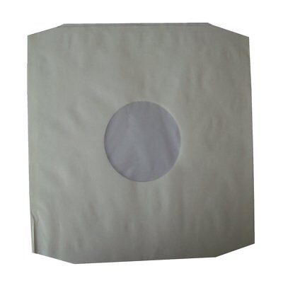 "50 X High Density 12"" Poly Lined Inner Paper Record Sleeves Anti-Static EBAYBEST"