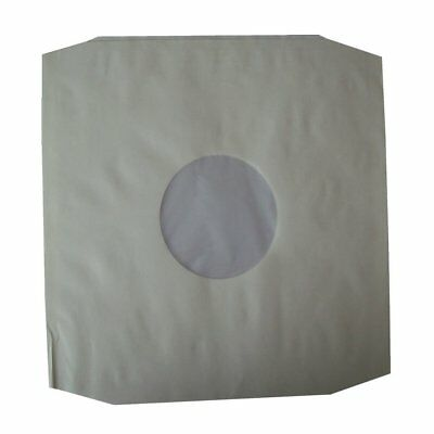 "100 X High Density 12"" Poly Lined Inner Record Sleeves 90gr AntiStatic EBAY BEST"