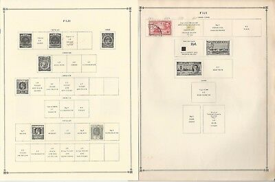 Fiji Collection 1878-1993 on 30 Scott International Pages
