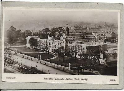CARDIFF, The New University, Cathays Park, Glamorgan old postcard
