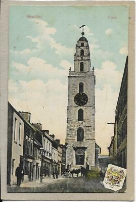 CORK, Shandon, old postcard, including the Clock Tower.