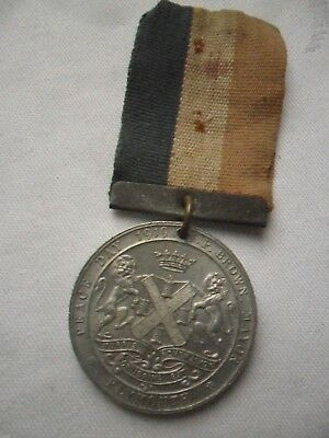 WW1-  Plymouth Peace 1919 Commemorative Medal