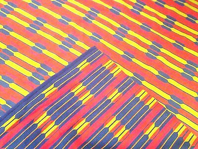 VTG 60s DANISH REVERSIBLE WOOL RUG mid Century Modern Loft Abstract Eames Art