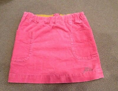 Little Joule Girls Age 6 Years Pink Skirt By Joules