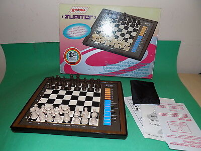 SYSTEMA JUPITER Electronic Chess computer boxed 1995