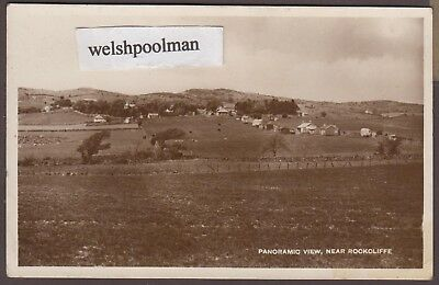 Vintage Panoramic View Near Rockcliffe W.M. Grieve & Sons Dumfries Postcard