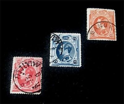 nystamps Thailand Stamp # 1 - 3 Used $54