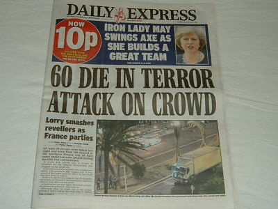 Daily Express Newspaper - 15 July 2016