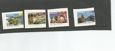 Mint 2008 Tourist Precincts P & S Stamp Booklet Set Muh Luna Park,the Rocks