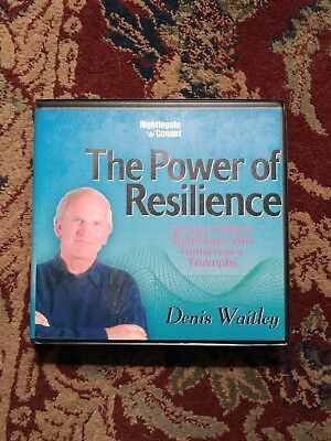Denis Waitley THE POWER OF RESILIENCE 6 CD Set NIghtingale Conant