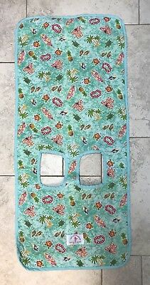 Priscilla's Designs Lets Go Shopping Sani Baby Hawaiian Print Grocery Cart Cover