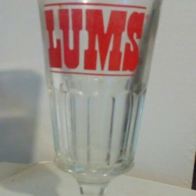 LUMS Beer Glass 1970 era