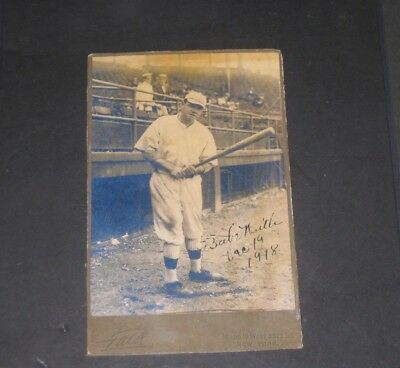 1918 BABE RUTH Signed Baseball Card New York Yankees Vintage Sports READ LISTING