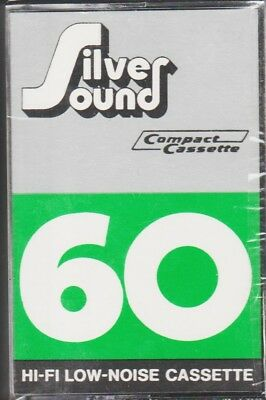 Silver Sound 60 Classic Hi-Fi Normal Position Type I Blank Audio Cassette