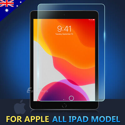 Tempered Glass Screen Protector for Apple iPad 2 3 4 5 6 7 10.2 Air Mini Pro