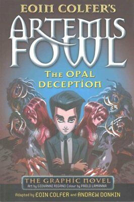 The Opal Deception The Graphic Novel by Eoin Colfer 9780141350271