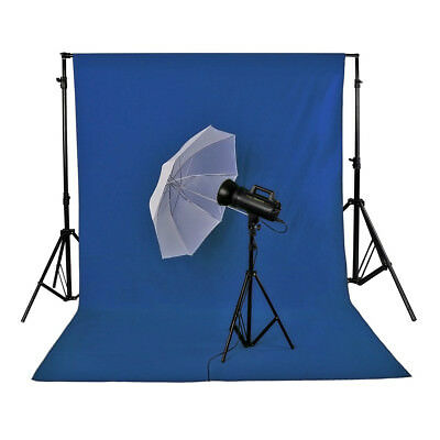 Neewer 6x9ft/1.8x2.8M Photo Studio 100% Pure Muslin Backdrop Background (Blue)