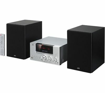 jvc ux d750 100w micro hifi stereo amp dab cd wireless. Black Bedroom Furniture Sets. Home Design Ideas