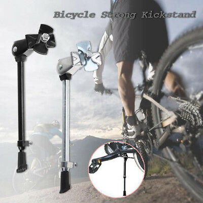 Heavy Duty Bicycle Bike Kick Stand Cycling Rubber Foot Frame Mounted Prop Stand