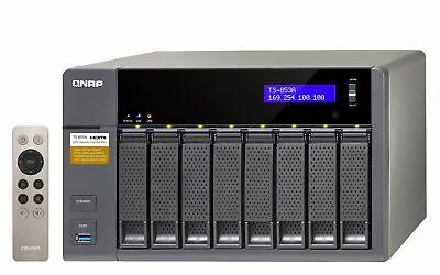 NEW! QNAP TS-853A-4G 32TB 8 x 4TB WD RED PRO 8 Bay NAS Unit with 4GB RAM