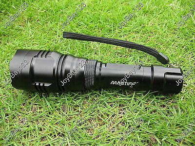 Mastiff M2 5W 940nm Infrared Radiation IR LED Lamp Night Vision Flashlight Torch