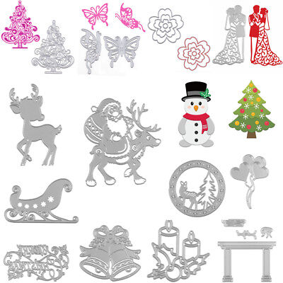 Christmas Series Metal Cutting Dies Stencil Scrapbook Cards Craft DIY Die-Cutter