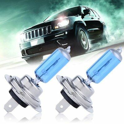 Car Auto H7 HID Xenon Super White Headlight 12V 55W 2Pin Halogen Bulb Lamp Light