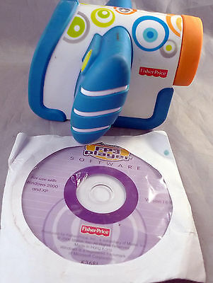 2010 Fisher-Price Kid Tough VIDEO CAMERA Camcorder Previously Owned Works