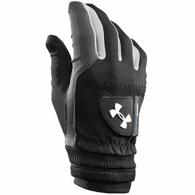 Under Armour Mens UA ColdGear Golf Gloves - Black - Pair - 35% OFF RRP