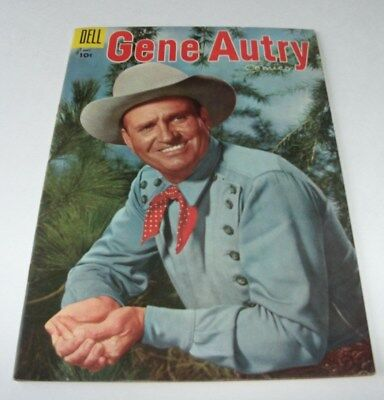 Gene Autry Comics #99 Mid-Upper Grade Golden Age Western 1955 Dell Comic Book