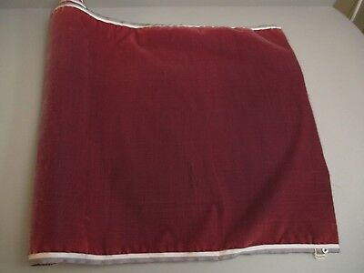 Antique French Millinery Velvet Fabric Cotton Silk Early 19 C Berry