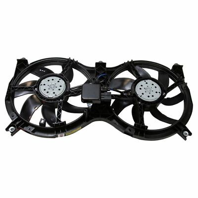 Radiator Condenser Dual Cooling Fan Assembly for Pathfinder JX35 QX60 New