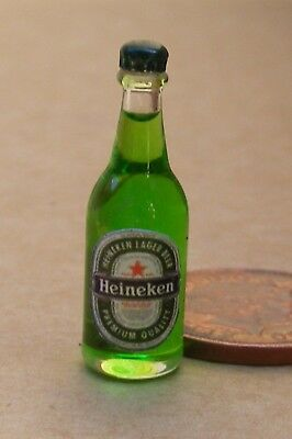 1:12 Scale Stella Lager Label On A Bottle Tumdee Dolls House Pub Drink Accessory