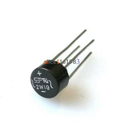 20PCS 2W10 2A Bridge Diode Rectifier NEW