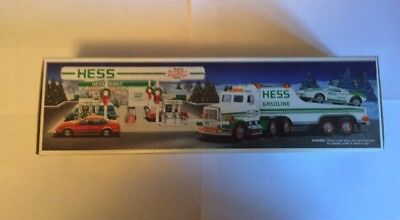 BRAND NEW 1991 Hess Toy Truck and Racer-NIB