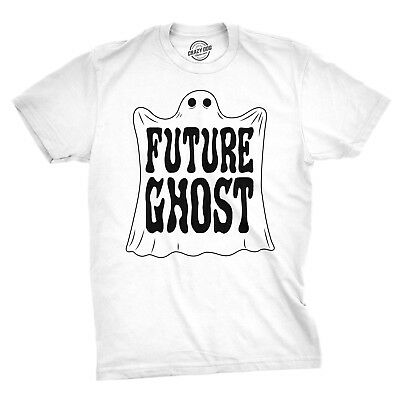 Mens Future Ghost Funny Tee Spooky Novelty T shirt