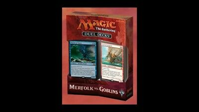 Magic the gathering - Duel Decks Merfolk vs. Goblins  - MTG - NEU & OVP