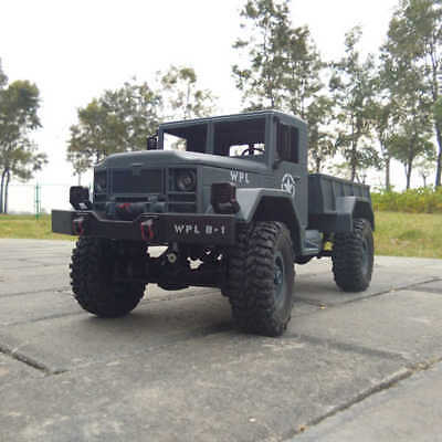1:16 off-road RC Militar Truck 4-Wheel Universal Off Road Vehicle Toy Car Model