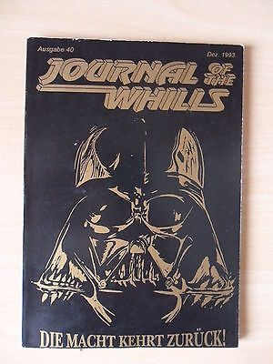 STAR WARS    Journal of the Whills  Nr: 40  Dez 1993   Fanclub
